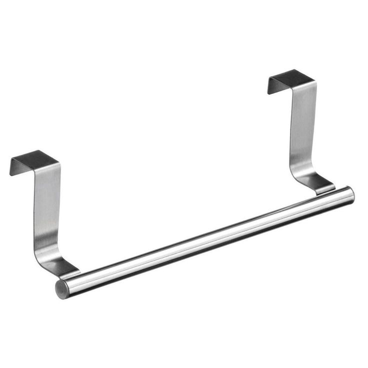 1 X Towel Rail Holder Over Kitchen Cabinet Home Door Hand Hanger Storage 23cm Unbranded
