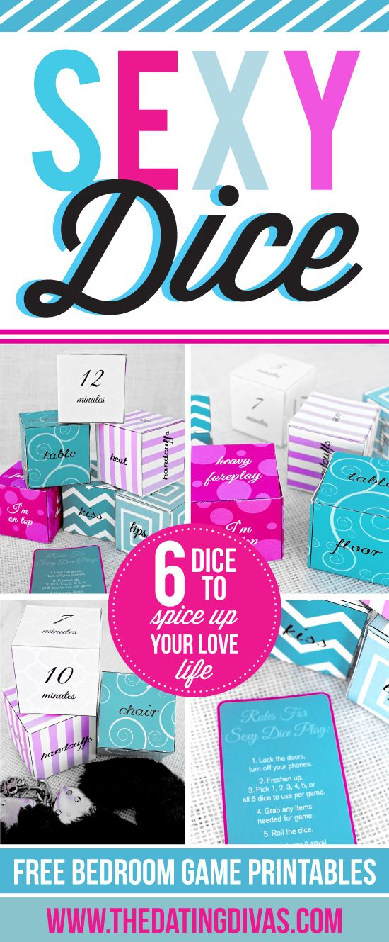 I've hit the dice gold mine with this 6 sexy dice game!!! www.TheDatingDivas.com