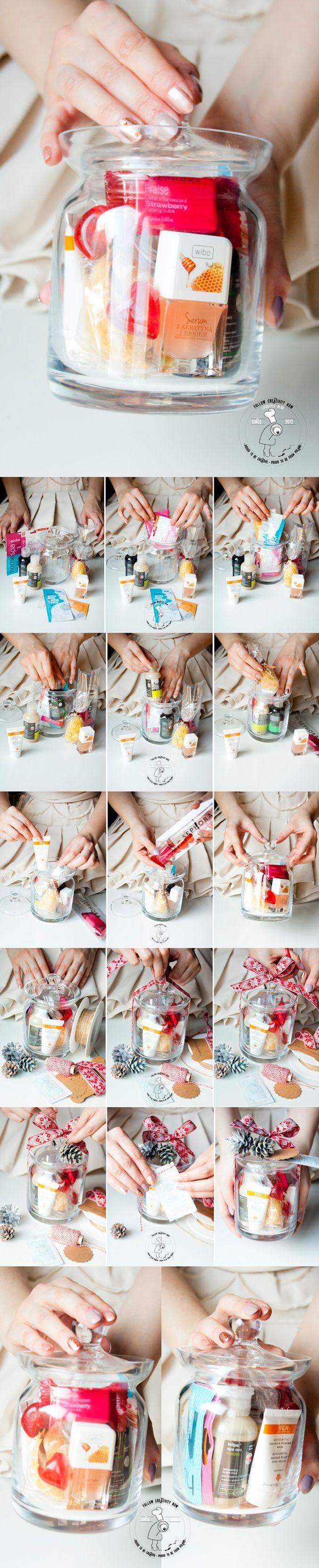 DIY - SPA in a jar - smart gift idea