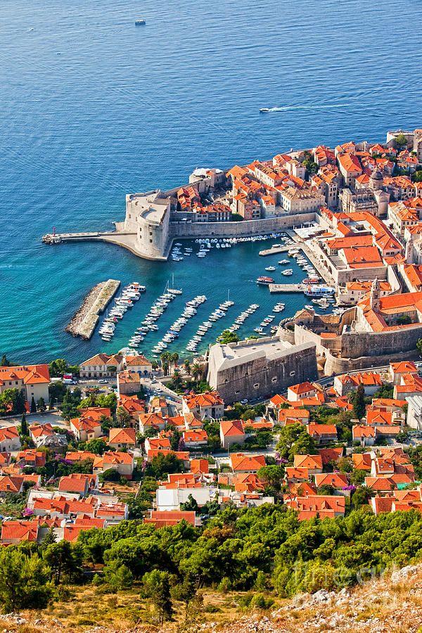 Dubrovnik from above, Croatia -- by Arthur Biogacki