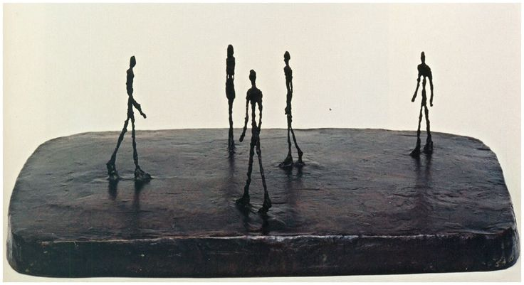 Alberto Giacometti - La piazza (1948 – 1949)   Art ...