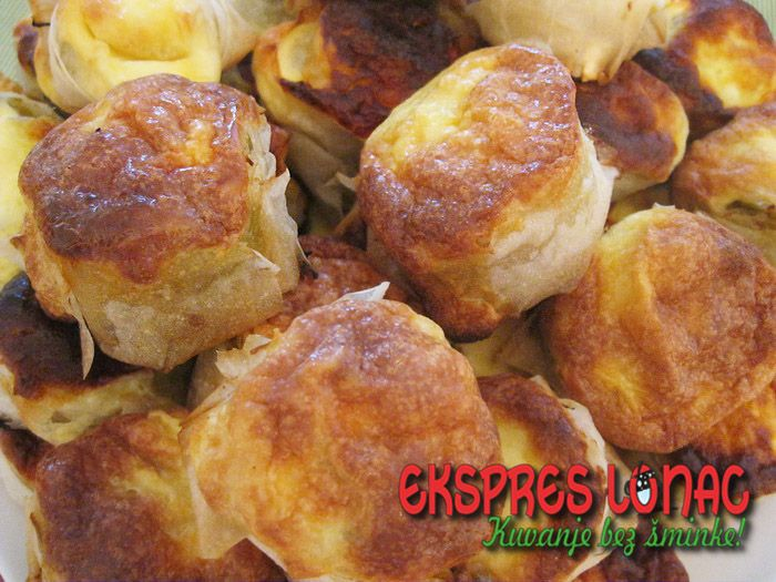 Pie with Leeks and Mushrooms / Pita sa prazilukom i šampinjonima