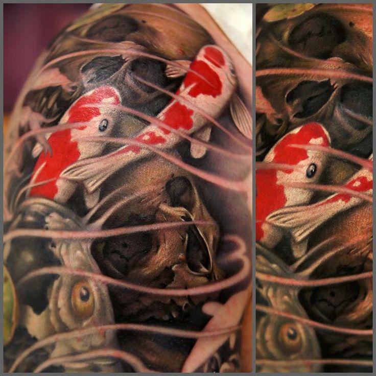 17 meilleures images propos de koi tattoo sur pinterest for Poisson koy