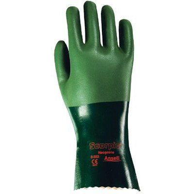 Ansell - Scorpio Neoprene Coated Gloves 212513 10 Improved Scorpio Neoprene Coated: 012-8-352-10 - 212513 10 improved scorpio neoprene coated    012-8-352-10 Features: -Scorpio gloves offer broad-spectrum resistance to a wide range of chemicals, including oils, acids, solvents, and caustics. -The interlock knit cotton lining and flex... Check more at...