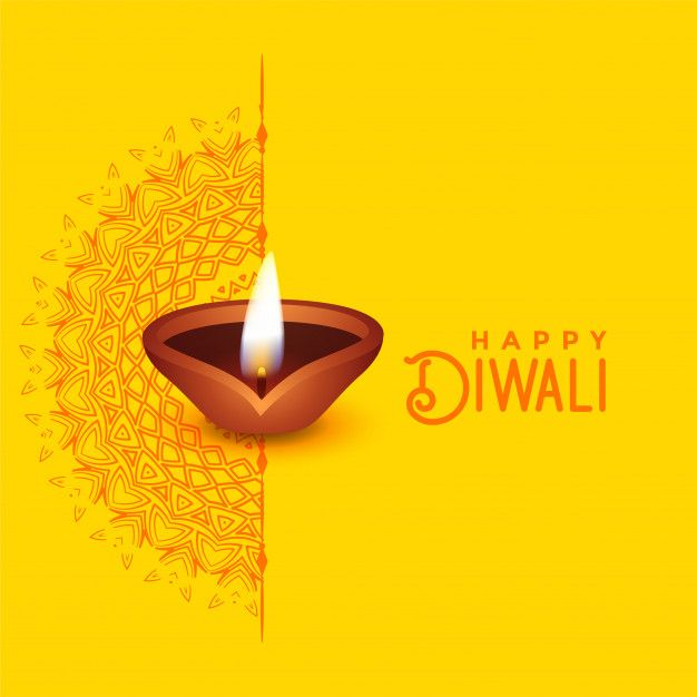 Download Beautiful Diwali Greeting Card Design With Mandala Art And Diya For Free Diwali Greetings Diwali Greeting Cards Happy Diwali Images