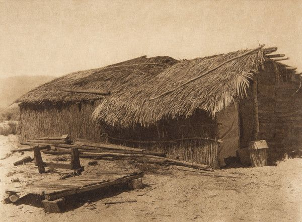 Desert Cahuilla home (The North American Indian, v. XV. Norwood ...