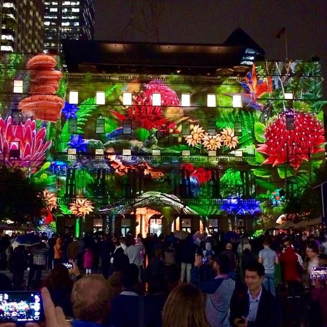 Vivid Sydney 2015 - Beautiful Lands