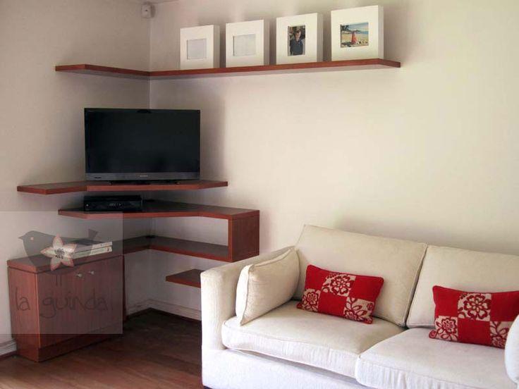 Mejores 43 im genes de como poner tv en pinterest mueble tv paredes tv y ideas para casa - Imagenes de muebles esquineros ...