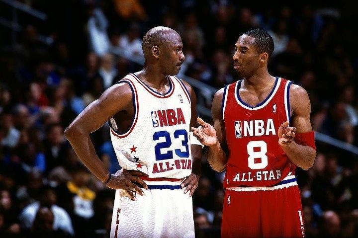 MJ & KB: All Star, Basketball, Michaeljordan, Kobe Bryant, Nba, Jordans, Sports, Jordan'S, Michael Jordan