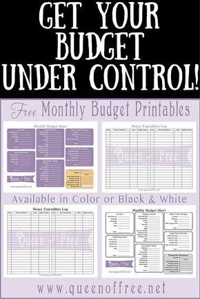 Best 25+ Budget worksheets ideas on Pinterest Budget planner - printable budget worksheet
