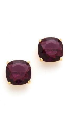 Kate Spade earrings, love the colour!