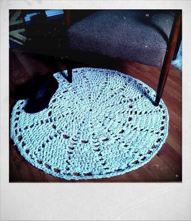 Crocheting Rag Rugs : Crochet Rag Rug Rag rugs Pinterest