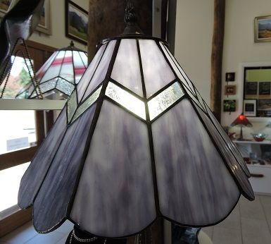 26 best pendant lights images on pinterest pendant lights purple with glue chevron leadlight lamp by volcania art glass aloadofball Gallery