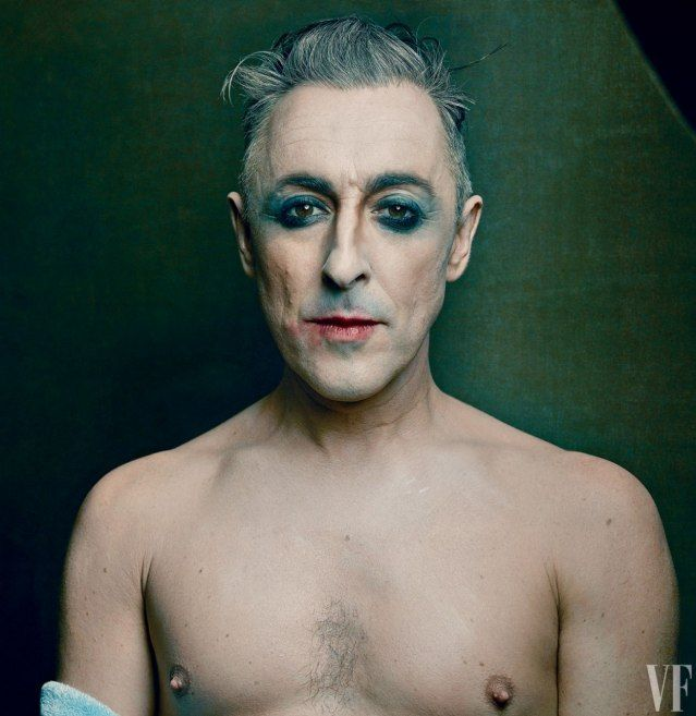 Alan Cumming and the Kit Kat Klub's Return to Broadway | Vanity Fair - I love this photo! What an amazing picture and an even more amazing actor.
