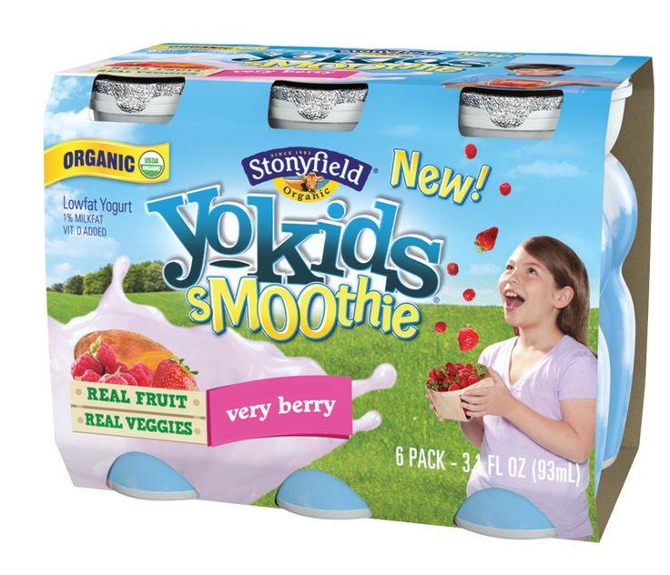 Stonyfield yokids smoothie pack