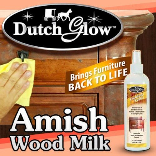 A good furniture polish like Dutch Glow and a soft cotton cloth can do  wonders for your wood furniture. The right product can help to achieve a  beautiful ...
