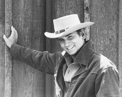 Michael Landon, when I feel a little cowboyish.