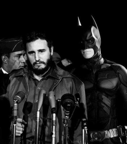 batman exist anywhere