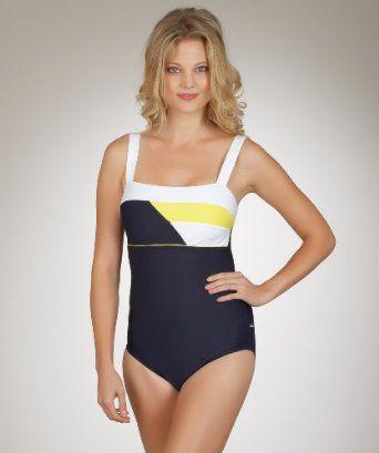 Nautica - Freeboard One Piece Swimsuit Navy 14 Nautica. $89.00