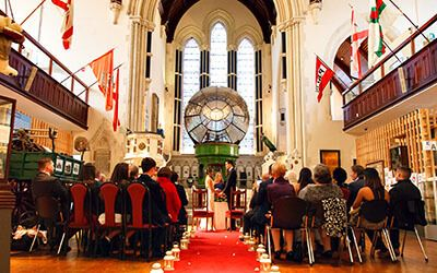 Over the past few year or so, the National Maritime Museum in Dún Laoghaire had been quietly hosting wedding ceremonies, without much promotion. So, far, a