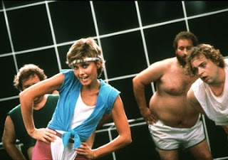 Olivia Newton John's 'Physical'.  Thought it was about aerobics because I was so young - figured it out when I got older!