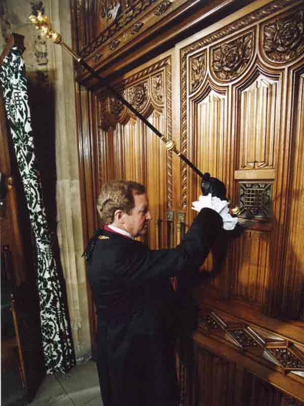 Gentleman Usher of the Black Rod, State Opening of