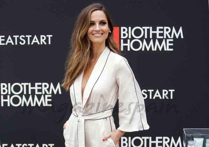 Ariadne Artiles nos dio una lección de estilo siguiendo la moda de sacar el pijama a la calle en la presentación de la nueva línea masculina de Biotherm Homme.