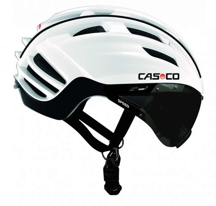 CASCO Speedster, Smoke Visor, Road helmet-L-White/Black  #CyclingBargains #DealFinder #Bike #BikeBargains #Fitness Visit our web site to find the best Cycling Bargains from over 450,000 searchable products from all the top Stores, we are also on Facebook, Twitter & have an App on the Google Android, Apple & Amazon.