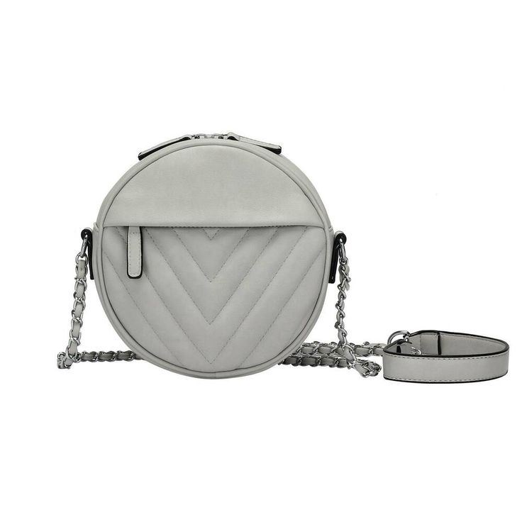 Photo of [Werbung]  WOMEN Shoulder Bag Shoulder Bag Round Leather Look Cross Body IT-BAG …