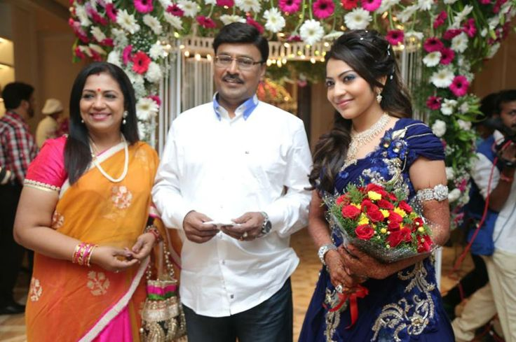 K. Bhagyaraj at Vj Ramya Wedding Reception