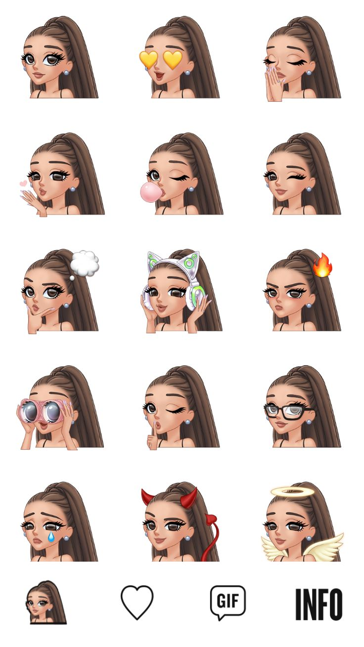 Ariana Grande new app arimoji go now to buy it on Apple store and play store