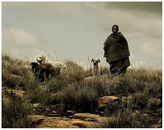 Africa |  Sani Pass, Lesotho.  | ©Leschick on flickr