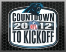 The Official Site of the Carolina Panthers, SCHEDULE (games) - Reg. Season Kick Off!!!!!   ---------------  Sun, 9/9/12 @ 4:25p, at Tampa Bay