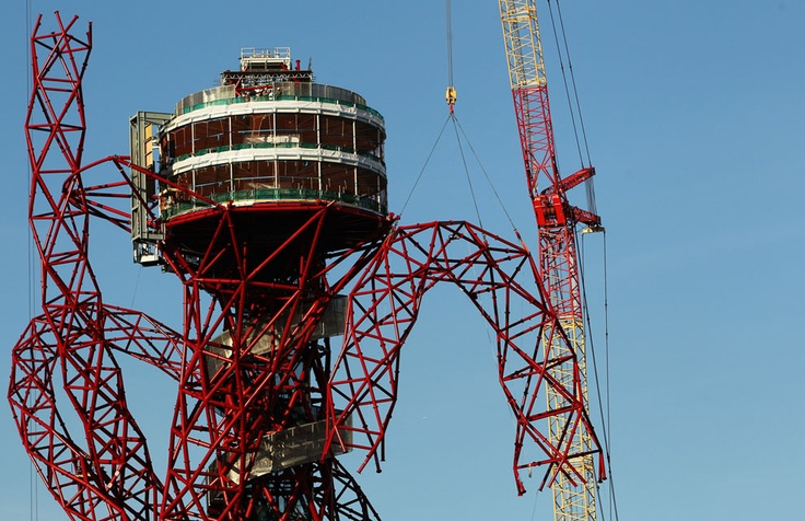 London 2012 Olympics  ArcelorMittal Orbit  observation tower