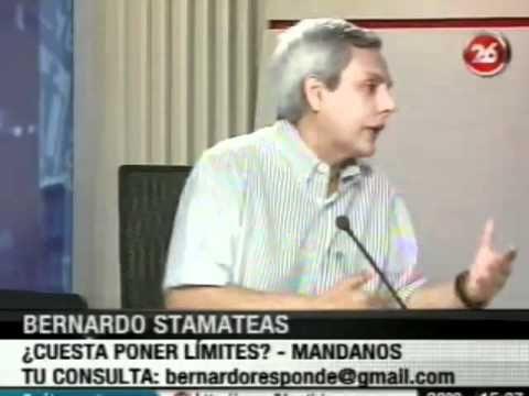 ¿Cuesta poner límites? por Bernardo Stamateas en Canal 26
