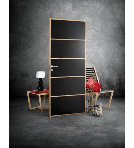 WitkaWood väliovi 7-10x21 Musta - piilosaranat, magneettilukko | Sarokas Verkkokauppa
