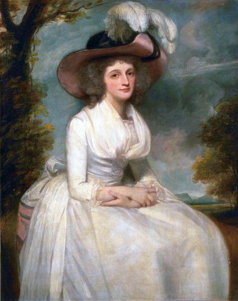 The Athenaeum - Charlotte Grove (George Romney - ) 1788