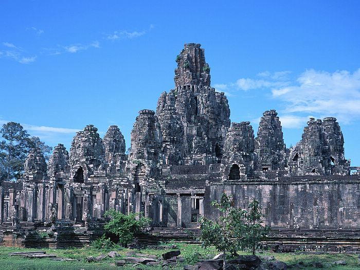 The Ancient ruins of Cambodia: Thom Bayon Temple  I know where i am heading first ;)