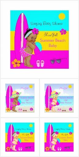 Summer Beach Baby Shower