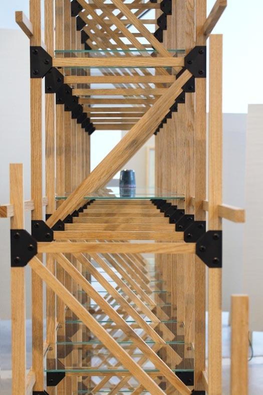 Via Stylink :Divider van Mieke Meijer - Het eerste product uit de 'under construction' serie. De kast is zo gebouwd dat hij altijd verder uitgebouwd kan worden met hetzelfde materiaal of zelfs andere materialen.