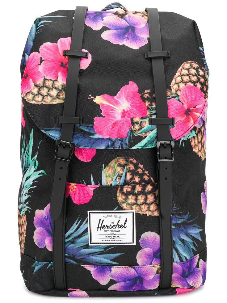 Herschel Supply Co. floral print backpack