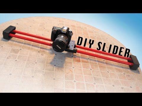 $10 DIY Camera Slider! - YouTube