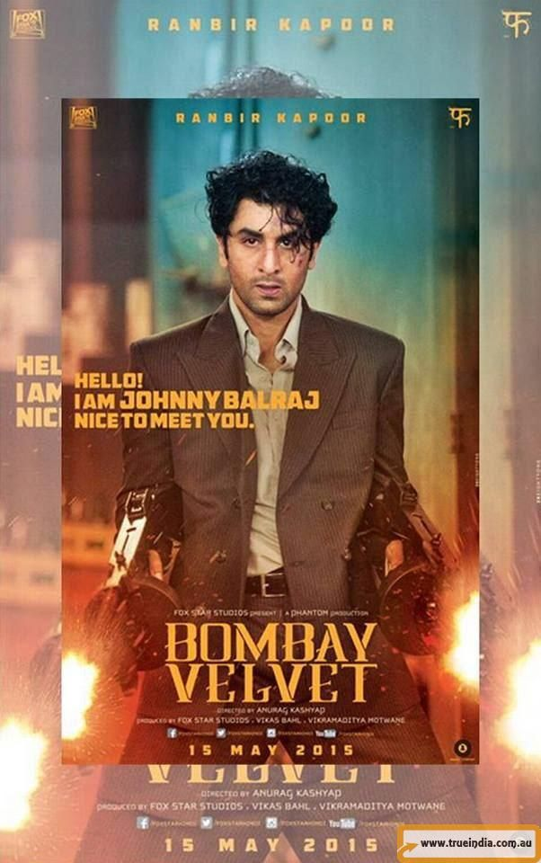 Bombay Velvet - Hindi Movie Screening in Australia (Sydney, Melbourne, Adel