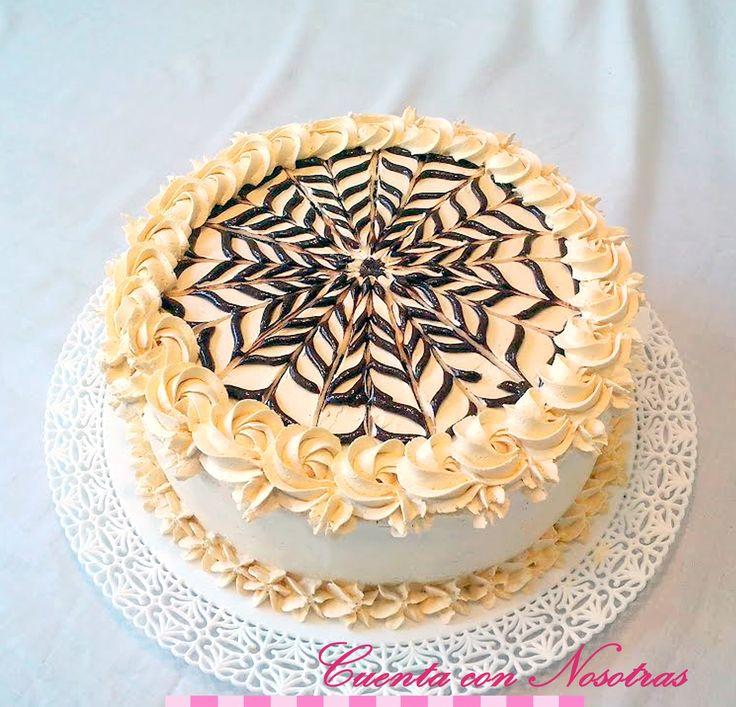 Torta de lúcuma