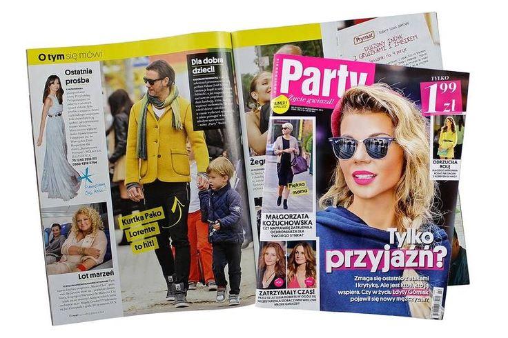 Kurtka Pako Lorente uznana za hit przez magazyn Party.