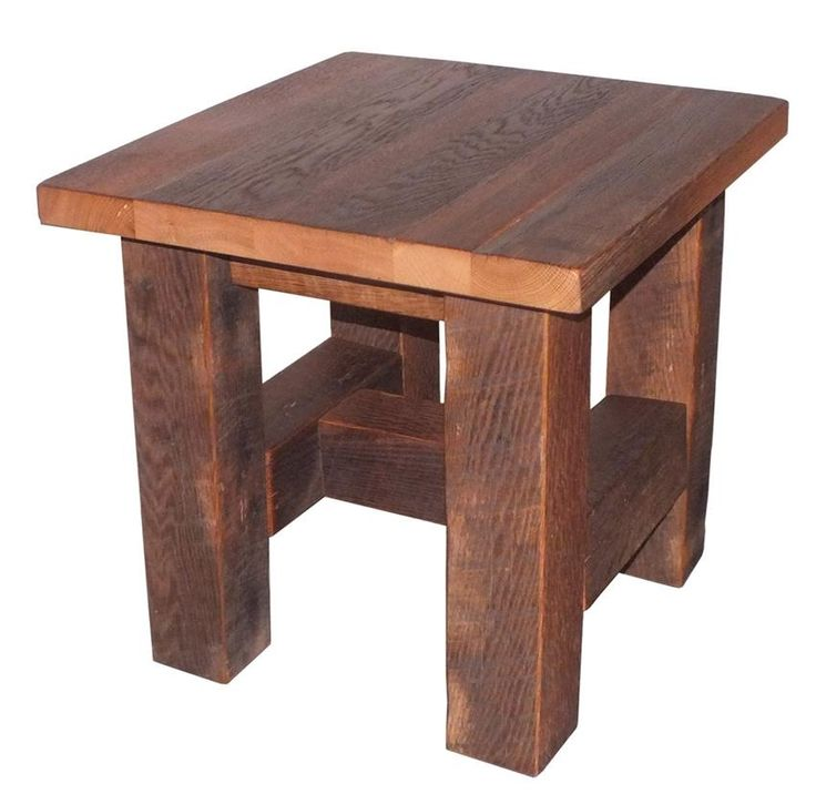 Grove Reclaimed Barn Wood End Table 211