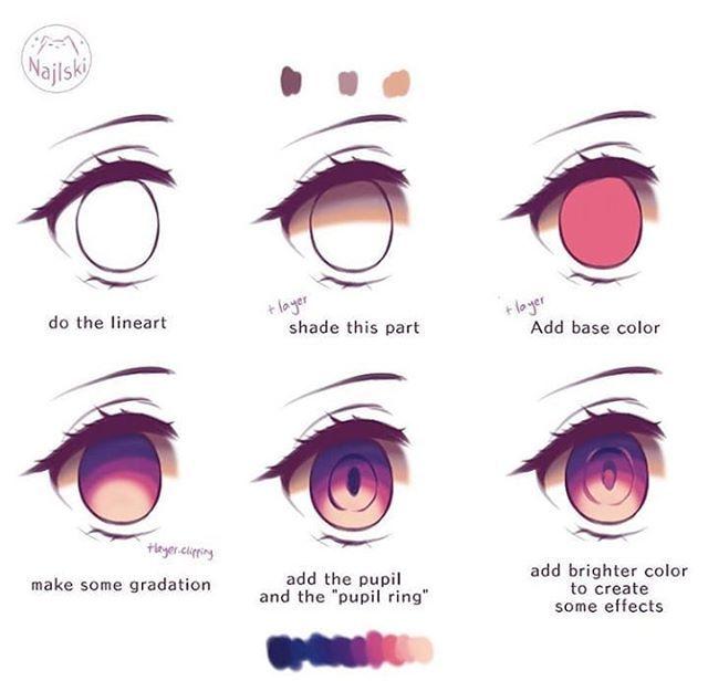 Solatiel Solatieltheknightess Instagram Photos And Videos Digital Art Tutorial Anime Eye Drawing Digital Painting Tutorials
