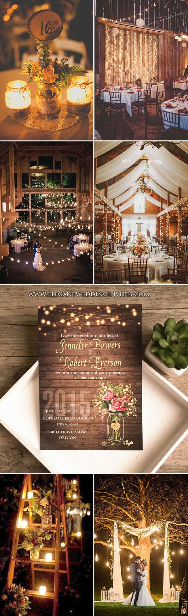 7 Chic Rustic Wedding Themes with Matching