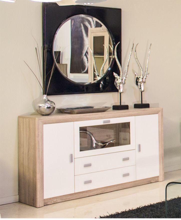 Una casa n rdica sencilla y funcional mueblesarria - Aparador para salon ...
