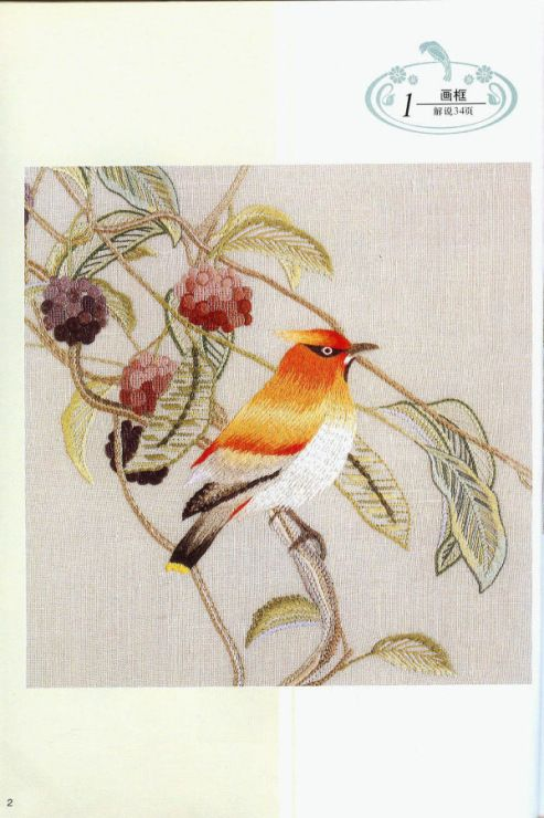 Best images about embroidery birds animals insects